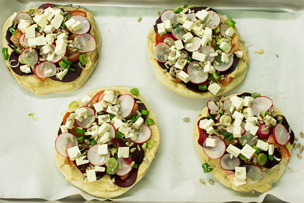 The Fabulous Fulda – Quick Lunch Idea #healthylunch #feta #springonion | hurrythefoodup.com
