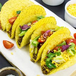 Lentil Tacos – Level Up Dinner - lentil tacos ready to eat #wraps #lentils | hurrythefoodup.com