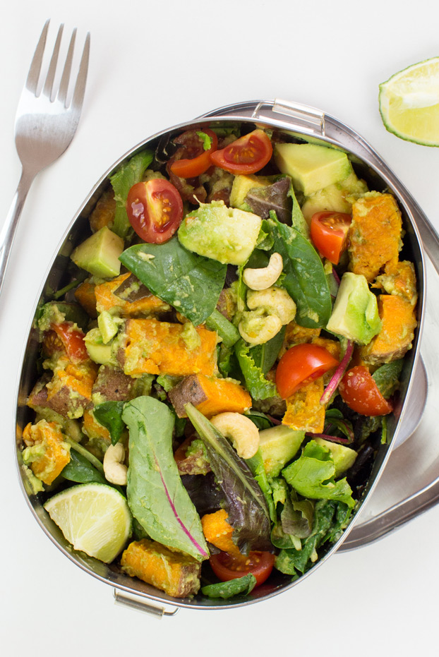 Sweet Potato Salad Top Photo