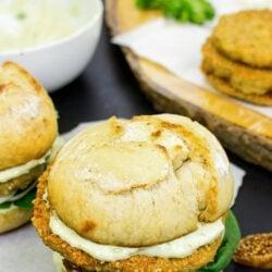 Quinoa Burgers – The future of all burgers - quinoa burgers are served #avocado #quinoa | hurrythefoodup.com
