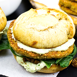 Quinoa Burgers – The future of all burgers | hurrythefoodup.com