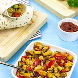Speedy Vegan Burrito – Packed with Protein | hurrythefoodup.com