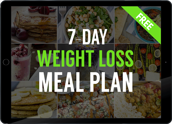 Free Vegetarian Weight Loss Meal Plan