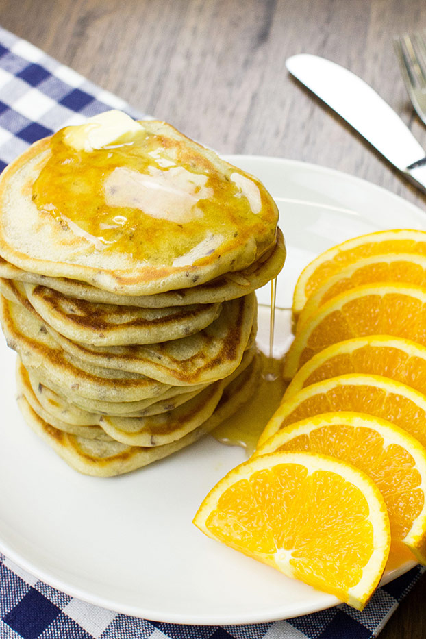 Easter Dinner, Lunch and Breakfast Ideas – Tasty and Stress-free - Eggless Pancakes recipe   hurrythefoodup.com