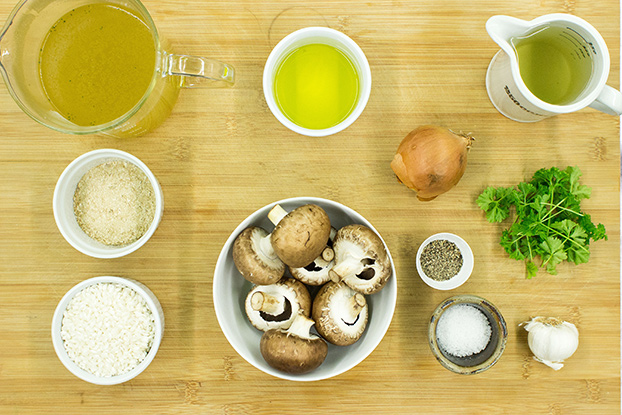 risotto ingredients #olive oil #garlic | hurrythefoodup.com
