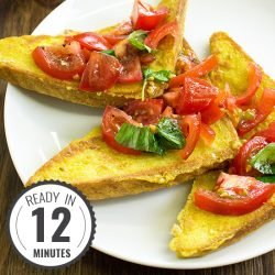Easy Vegan French Toast – No fuss, just taste | hurrythefoodup.com
