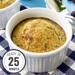 Moist Almond Flour Muffins - Gluten-free and super-quick | hurrythefoodup.com