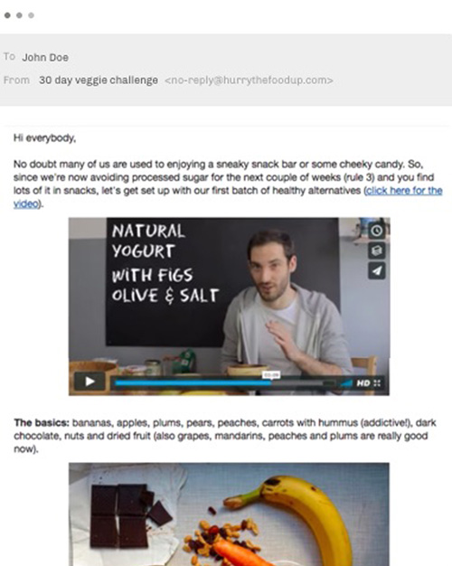 challenge emails