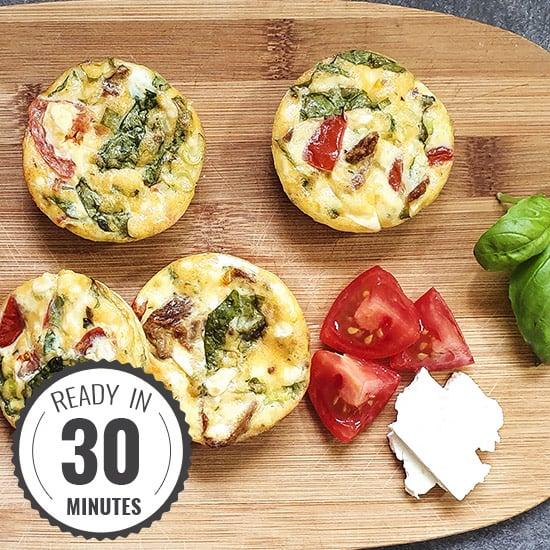 Italian Style Breakfast Egg Muffins | hurrythefoodup.com