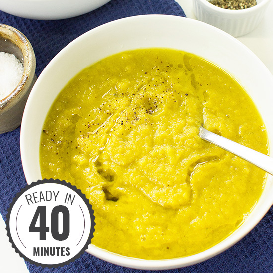 Curried Parsnip Soup – For Olympic Strength | hurrythefoodup.com