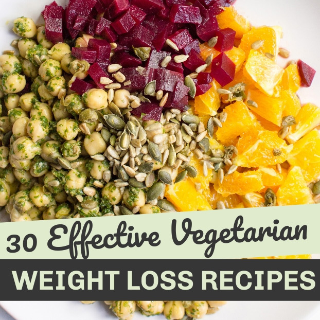 30 vegetarian weight loss recipes | hurrythefoodup.com