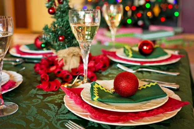 Christmas dinner table – recipes for future