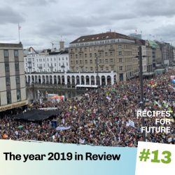 Hamburg demo, recipes for future 13
