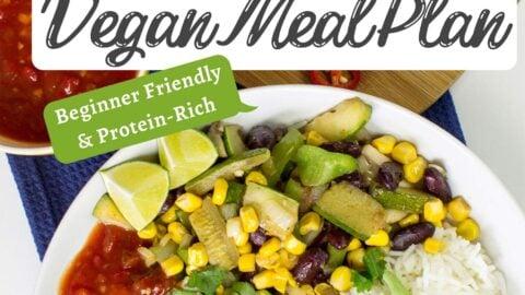 7 Day Healthy Vegan Meal Plan Beginner Friendly