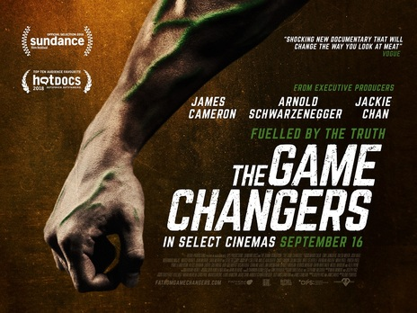 Poster for the Game Changers on Netflix