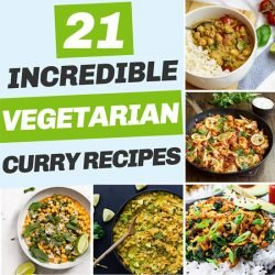 21 Vegetarian Curry Recipes - #vegetarian curry recipes | hurrythefoodup.com
