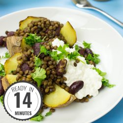 The Bicep Buster Baked Potato Recipe | hurrythefoodup.com