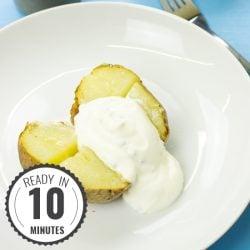 The German Baked Potato Recipe | hurrythefoodup.com