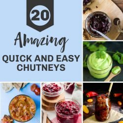 20 Amazing Quick and Easy Chutney Recipes | hurrythefoodup.com