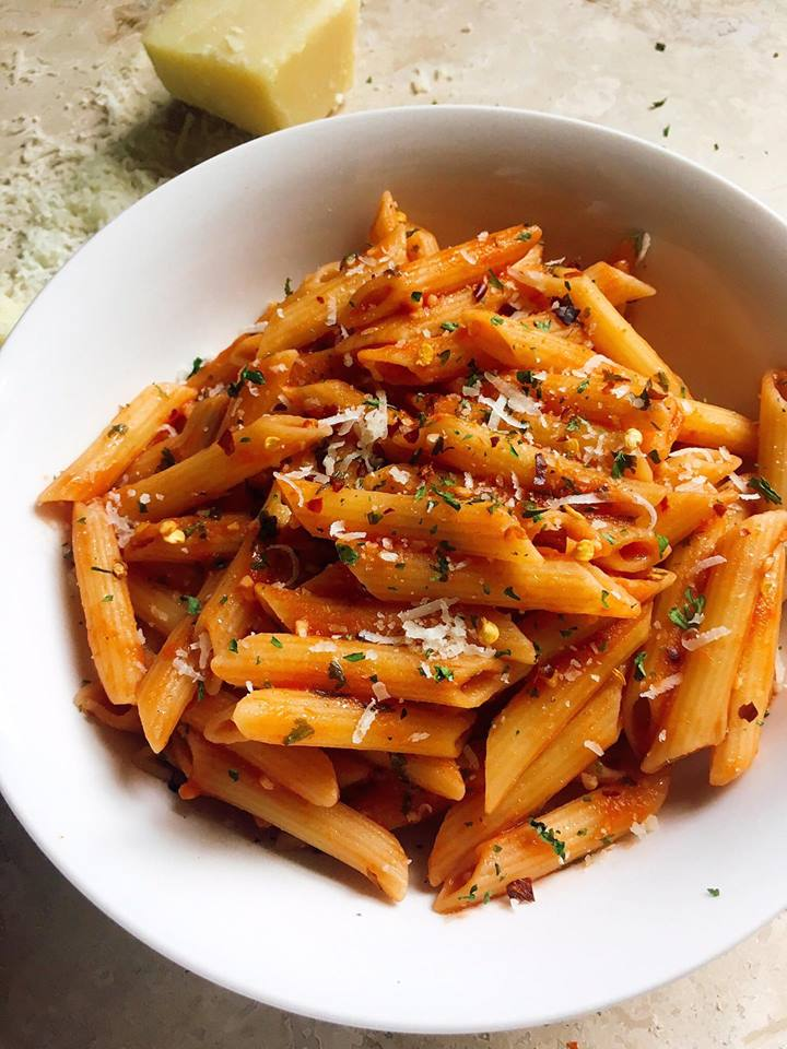 Arrabbiata Pasta | hurrythefoodup.com
