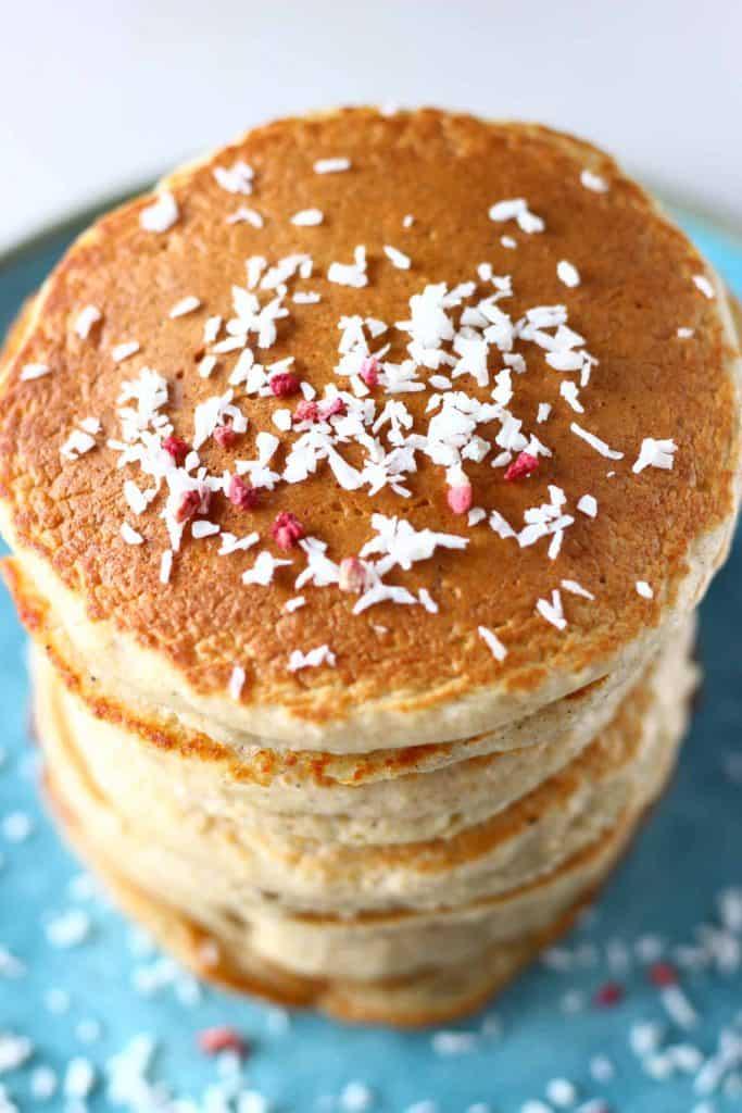 Oat Flour Pancakes | hurrythefoodup.com