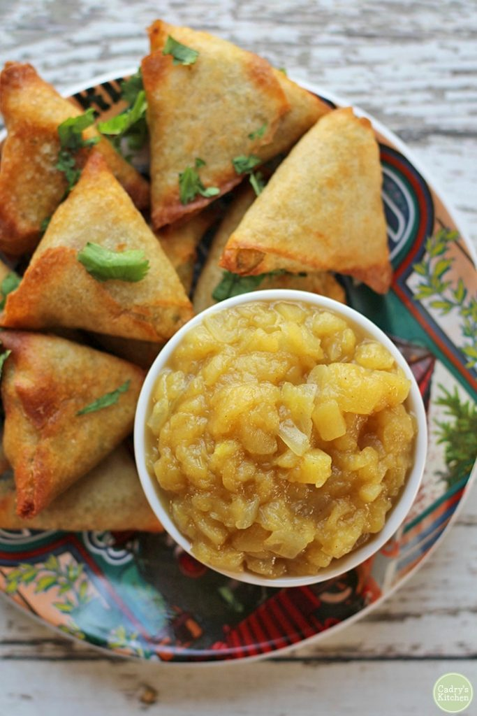 Apple Chutney with Ginger | hurrythefoodup.com