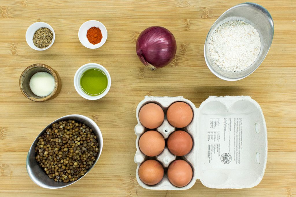 recipe ingredients #whole grain flour #coriander seeds #eggs | hurrythefoodup.com