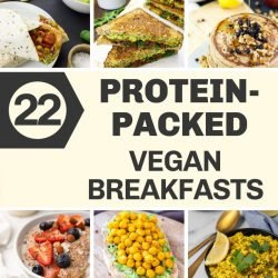 22 High Protein Vegan Breakfasts | hurrythefoodup.com