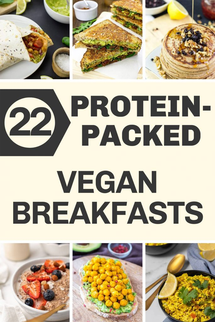 22 High Protein Vegan Breakfasts | hurrythefoodup.com