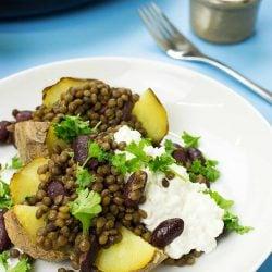 The Bicep Buster Baked Potato Recipe | hurrythefoodup.com