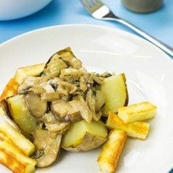 The Europa Baked Potato Recipe | hurrythefoodup.com