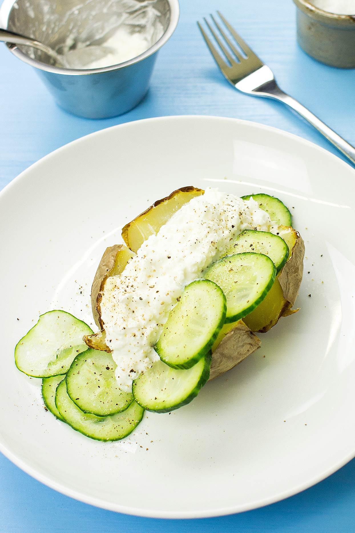 The Manc Special Baked Potato Recipe   hurrythefoodup.com