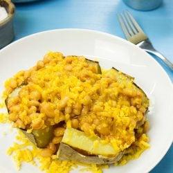 The UK Baked Potato Recipe | hurrythefoodup.com
