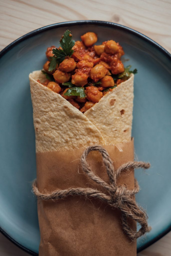 Vegan Tea Infused Chana Masala | hurrythefoodup.com