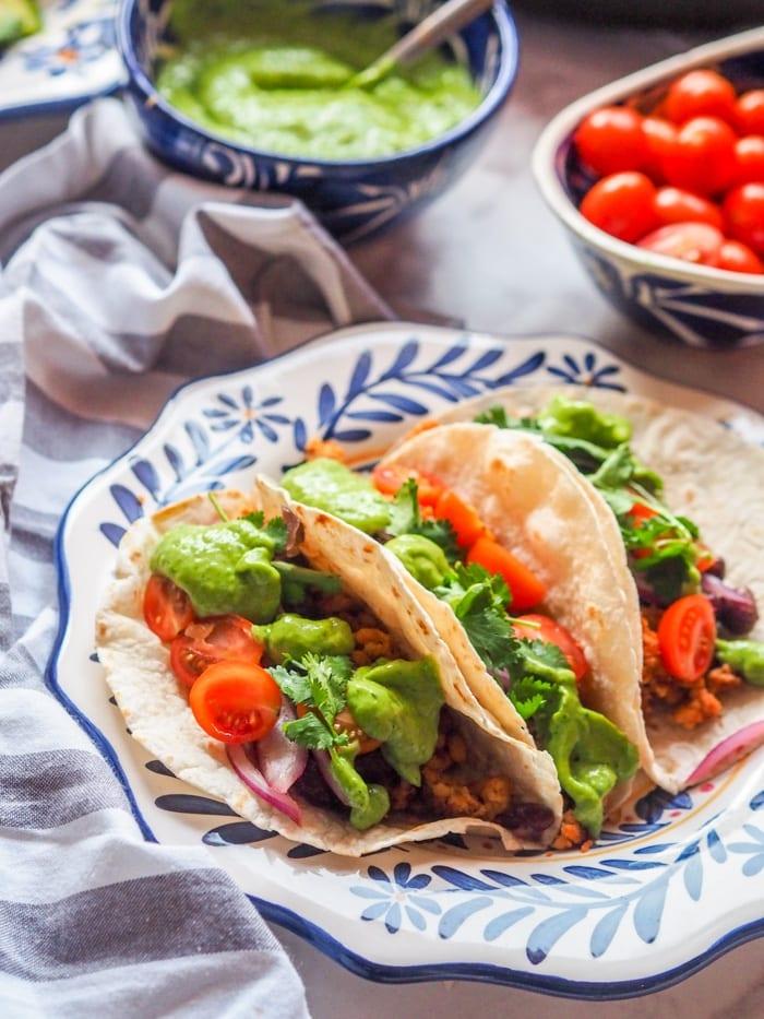 Tempeh Tacos | hurrythefoodup.com