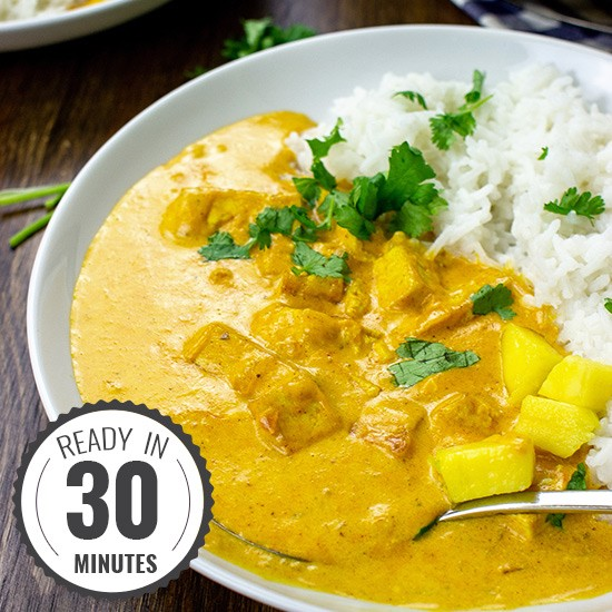 Marvellous Mango Curry featured image | hurrythefoodup.com