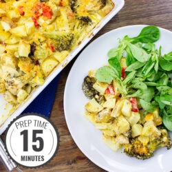 Award-winning Broccoli Cheese Casserole | hurrythefoodup.com