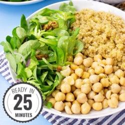 Sweet & Tangy Vegan Buddha Bowl - Meals in Bowls | hurrythefoodup.com