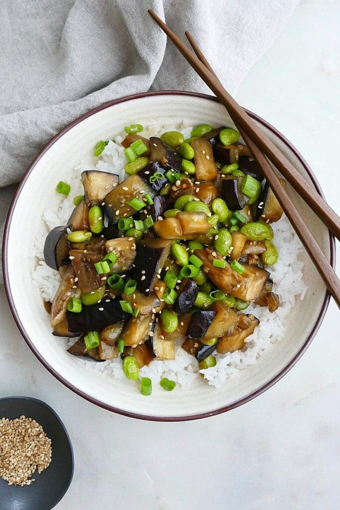 45 most popular vegan dinners – Vegan Eggplant Teriyaki | Hurry The Food Up