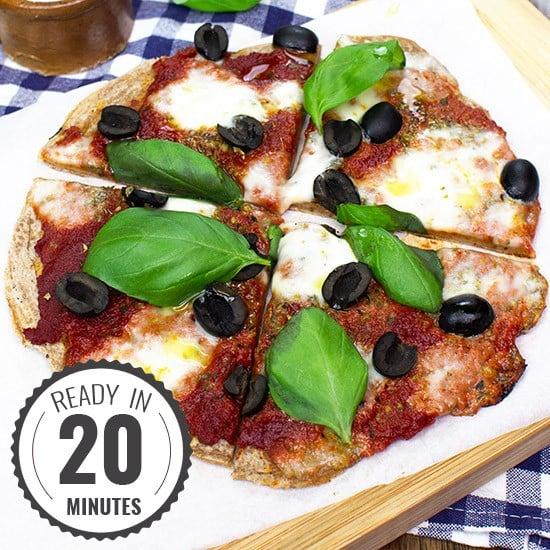 Perfect Pizza Pancakes | hurrythefoodup.com