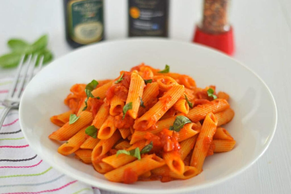 45 most popular vegan dinners – Penne all'Arrabbiata | Hurry The Food Up
