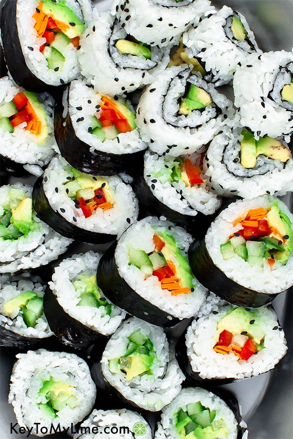 45 most popular vegan dinners – Vegan Sushi | Hurry The Food Up