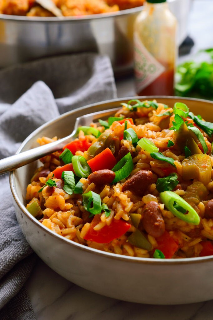 45 most popular vegan dinners – Vegan Jambalaya | Hurry The Food Up