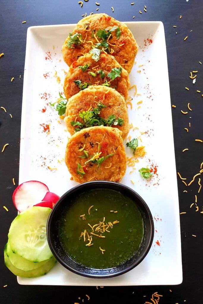 55 Vegetarian Indian Recipes – Crispy Aloo Tikki Recipe | Hurry The Food Up