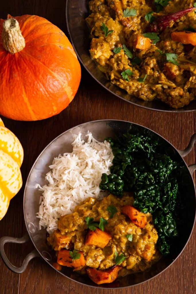 55 Vegetarian Indian Recipes – Pumpkin Curry | Hurry The Food Up