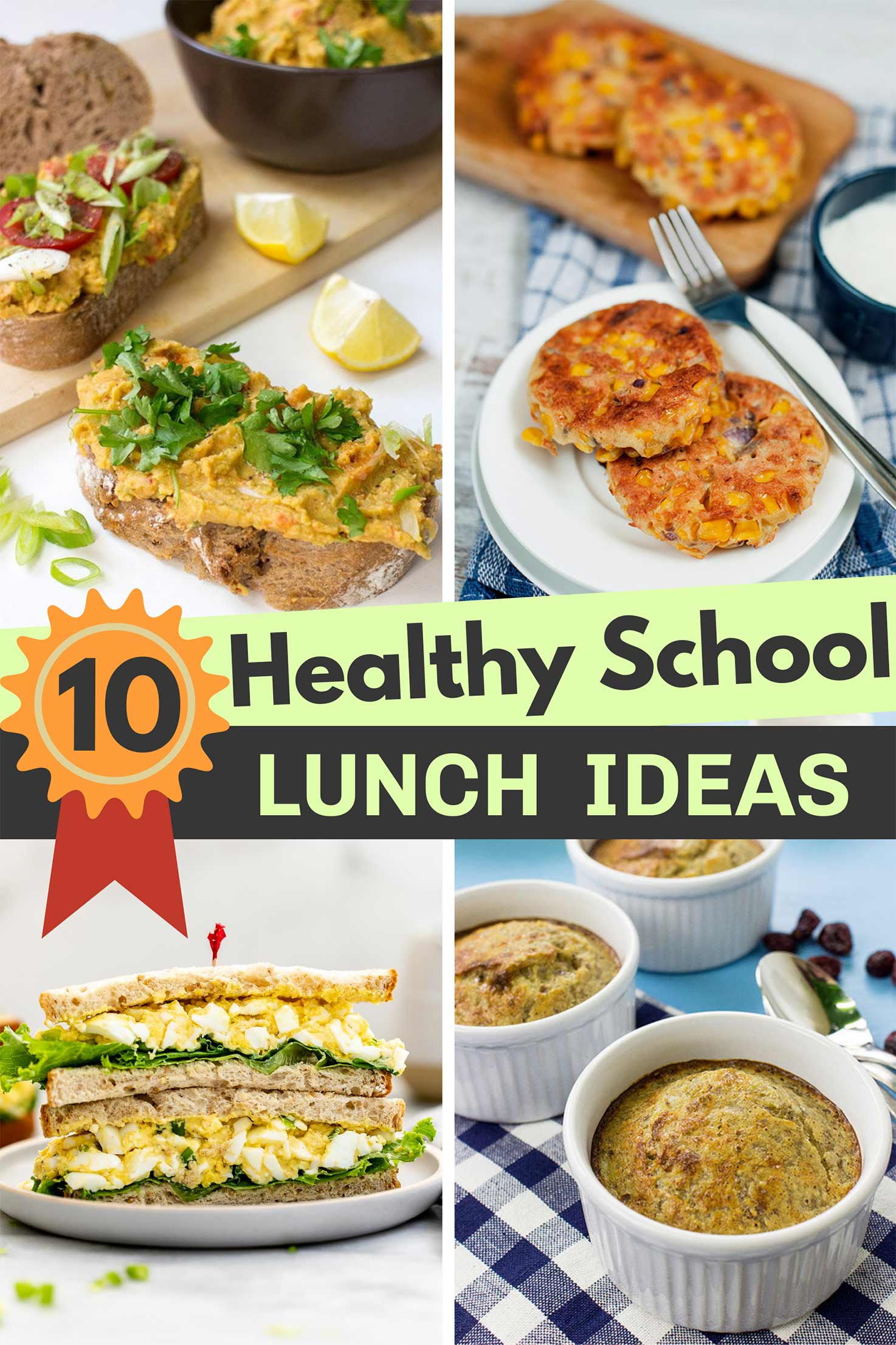 Top 10 Healthy School Lunch Ideas – Delicious, well-balanced and all kid-friendly recipes | Hurry The Food Up