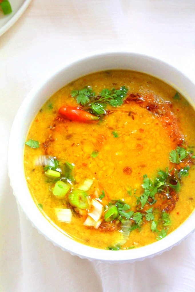 55 Vegetarian Indian Recipes – Dal Pakwan Chana Dal | Hurry The Food Up