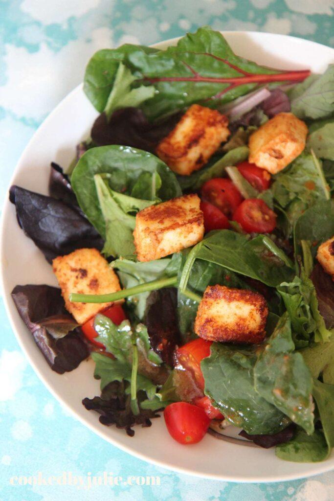 55 Vegetarian Indian Recipes – Paneer Salad | Hurry The Food Up