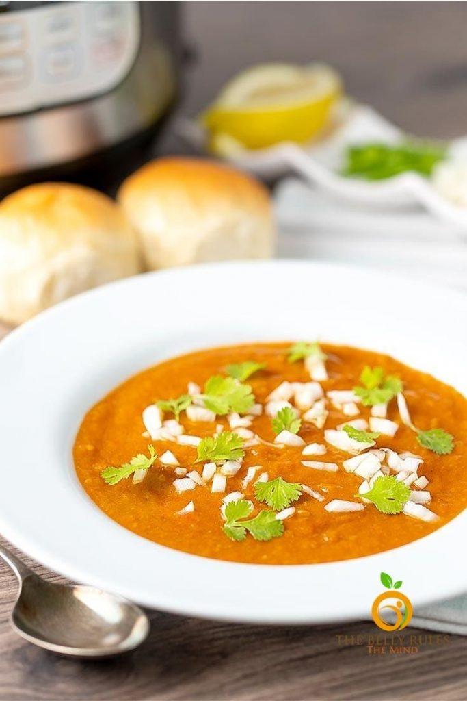 55 Vegetarian Indian Recipes – Mumbai Pav Bhaji | Hurry The Food Up