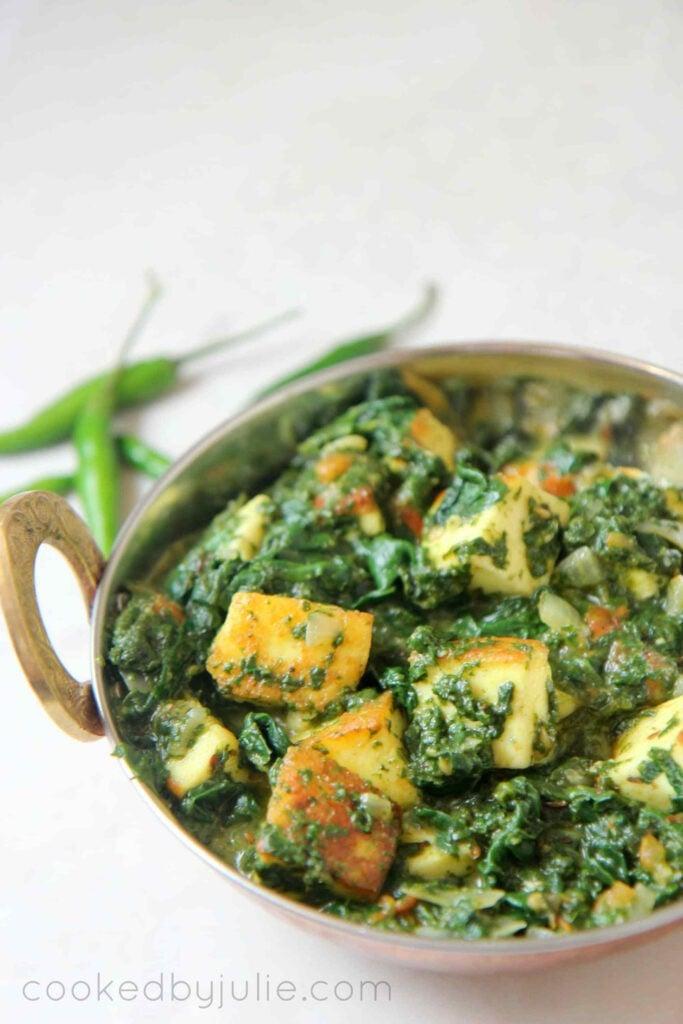 55 Vegetarian Indian Recipes – Saag Paneer – Keto Friendly, Gluten-Free, Vegetarian | Hurry The Food Up